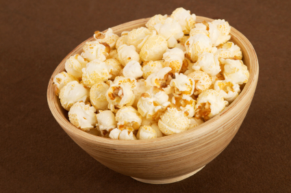 Maple Spiced Popcorn