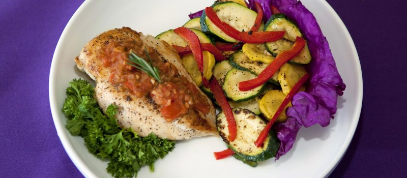 Grilled Chicken with Tomato Jam