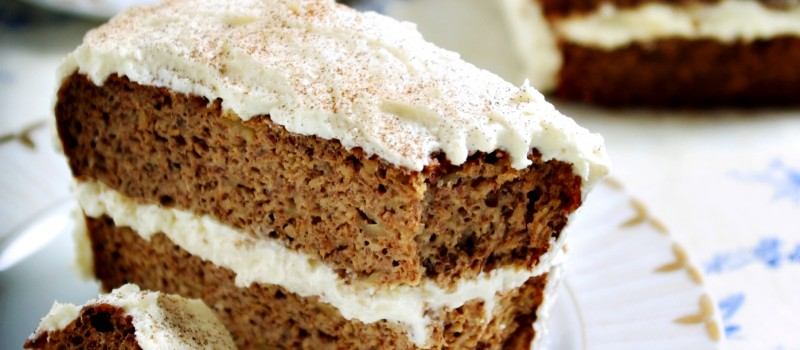 Gluten Free Cinnamon Apple Spice Cake