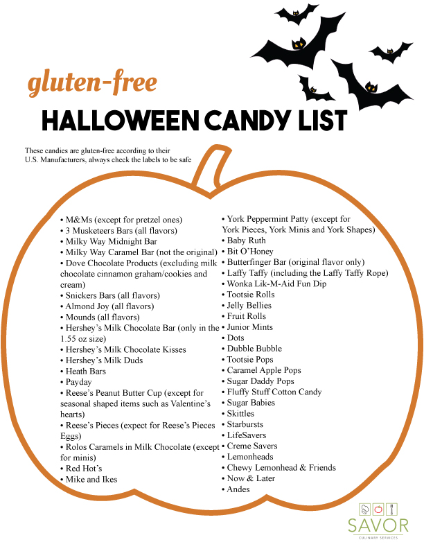 most manufacturers will usually note when something contains wheat barley oats etc or has been cross contaminated with another product - What Halloween Candy Is Gluten Free
