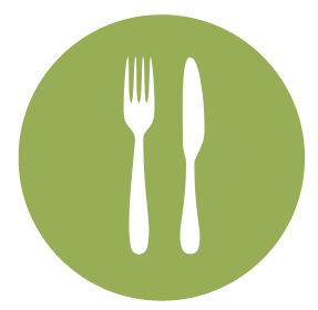 Savor-Fork-and-Knife-Green-Circle