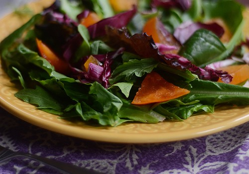 Fall Persimmon Salad