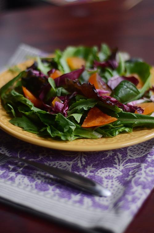 Fall Persimmon Salad