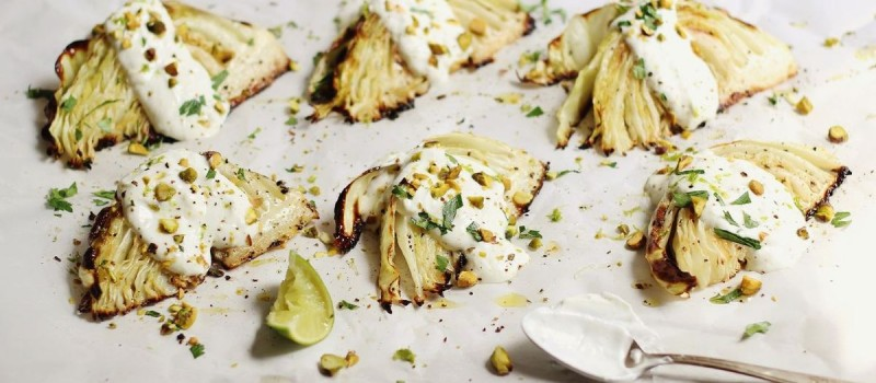 Grilled Cabbage Wedges Savor Culinary Services