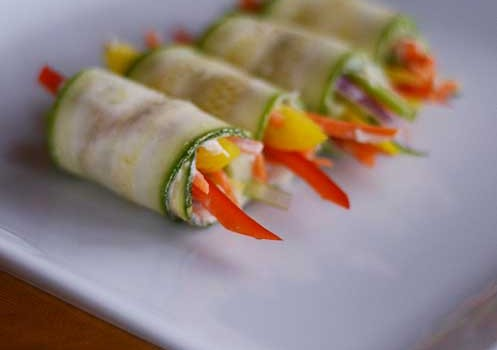 Easy Zucchini Roll Ups Savor Culinary Services Fort Worth
