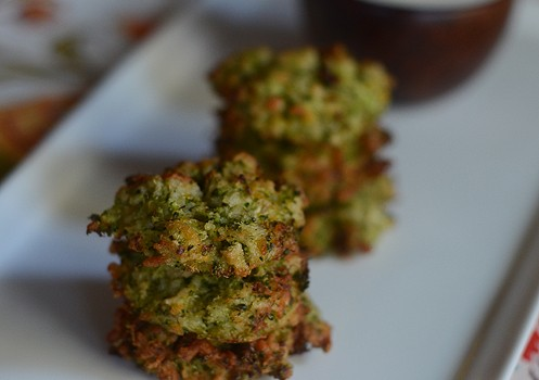 Broccoli Tots with Lemon Aioli Savor Culinary Services