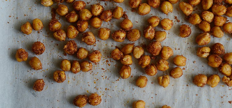 Sweet and Spicy Roasted Chickpeas Savor Culinary Services