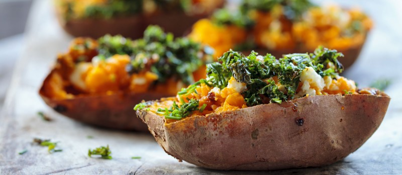 Chipotle Stuffed Sweet Potato Savor Culinary Services