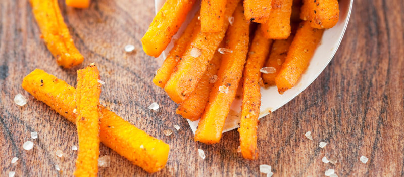 Butternut Squash Fries with Homemade Ketchup Savor Culinary Service