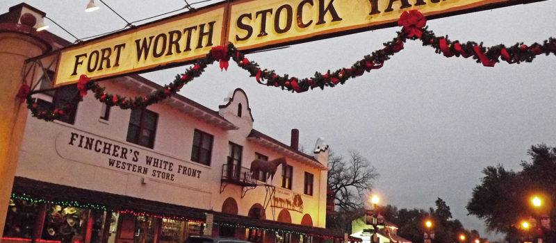 Christmas at the Stockyards