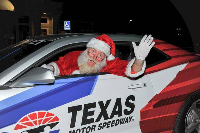 Texas Motor Speedway Gift of Lights Fort Worth