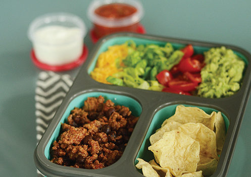 Healthy School Lunch: Mini Taco Bowls Savor Culinary Services