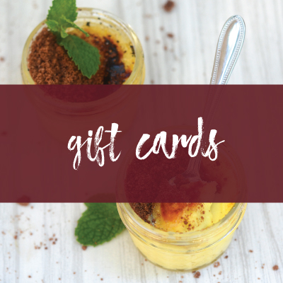 Gift Cards Personalized Holiday Meals & Catering Savor Culinary Services