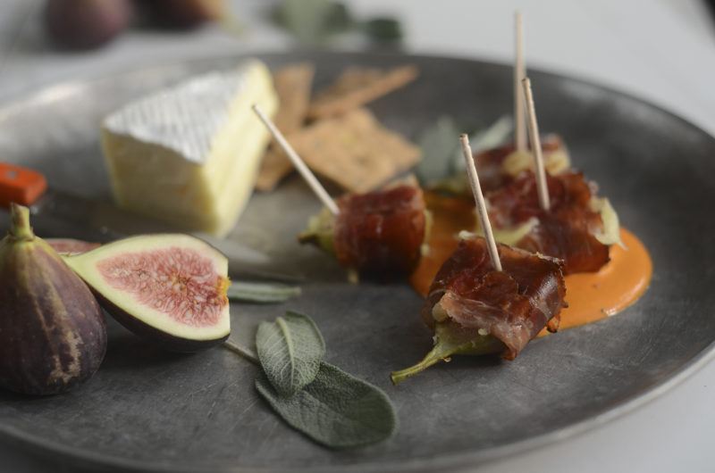Speck Wrapped Figs Holiday Appetizer Savor Culinary Services