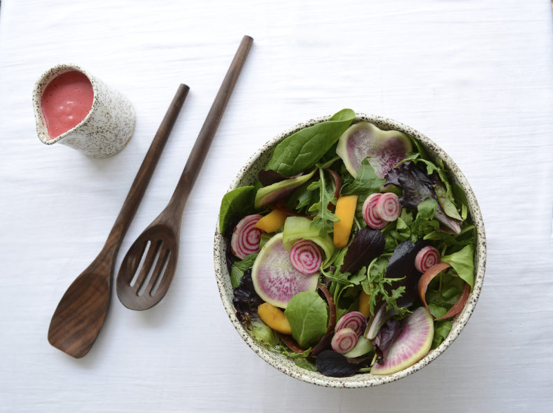 Prettiest Spring Salad for Mother's Day Savor Culinary Services