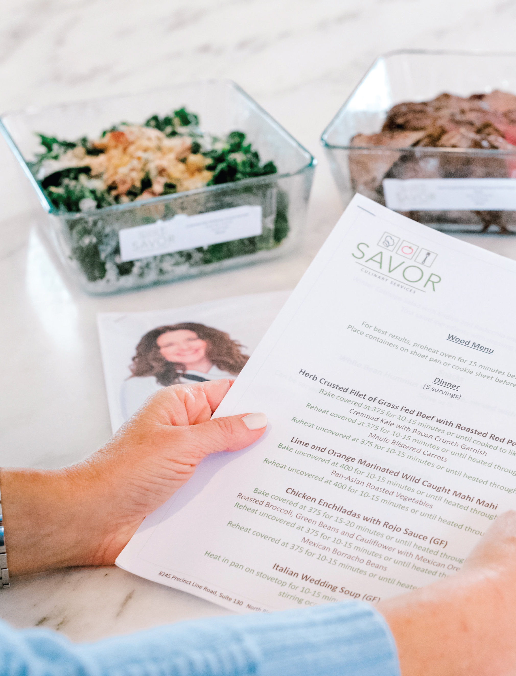 Personalized Prepared Meal Delivery Savor Culinary Services Fort Worth, Texas