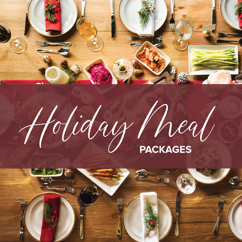 Holiday Meal Packages Savor Culinary Services Special Dietary Needs