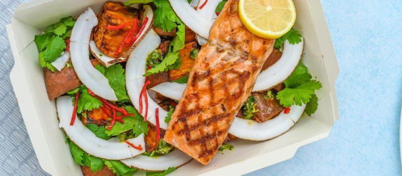Salmon salad cardiac diet plan