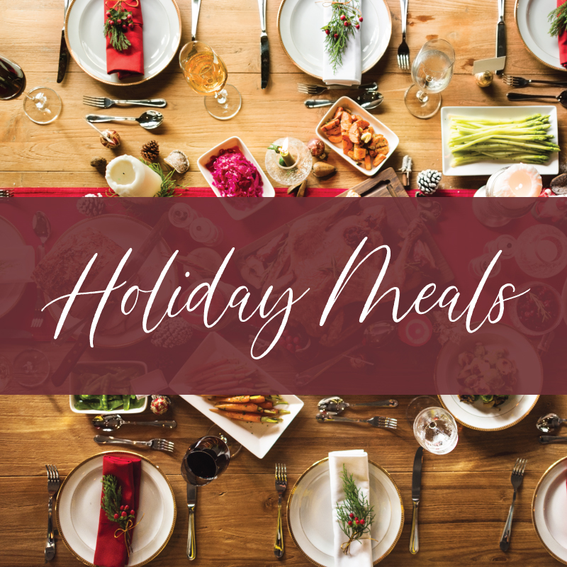 Savor Culinary Services Holiday Meals 2020